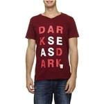 Camiseta Addict Fio 40 Darkseas Lettering