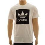 Camiseta Adidas Blkbrd Logo Fil White (M)
