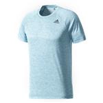 Camiseta Adidas D2m Ht Azul Masculina G