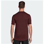 Camiseta Adidas Freeli Ft Fit Vinho Home G