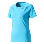 Camiseta Adidas Mc D2m Solid Azul Fem PP