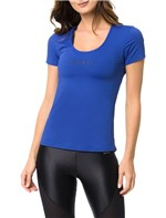 Camiseta Athletic Calvin Klein Swimwear Estampa Ck Azul Royal - P