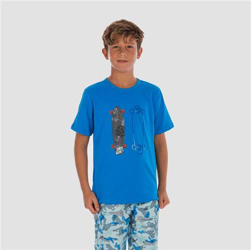 Camiseta Avulso Azul Imperial/10