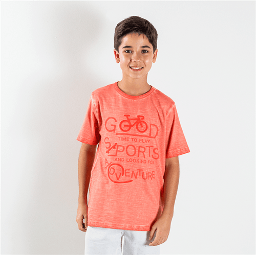 Camiseta Avulso Coral/08