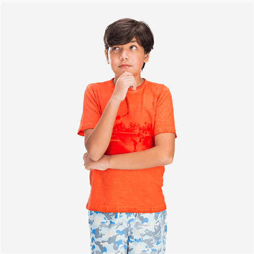 Camiseta Avulso Tomate/12