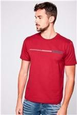 Camiseta Básica com Bolso Masculina
