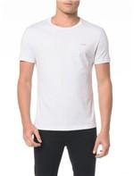 Camiseta Básica Slim Micro Estampa - P