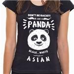 Camiseta Be Like a Panda - Feminina 7C21 - Camiseta Be Like a Panda NEW - Feminina - P