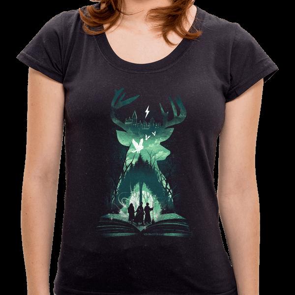 Camiseta Book Of Wizardry - Feminina - P