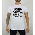 Camiseta Bora Branco