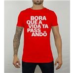 Camiseta Bora Vermelha