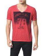 Camiseta Calvin Klein Jeans Estampa Calvin New York Vermelho - P