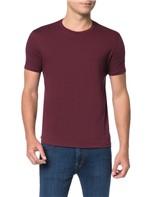 Camiseta Calvin Klein Jeans Estampa Costas American Bordô - XGG