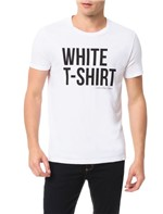 Camiseta Calvin Klein Jeans Estampa White T-Shirt Branco - P