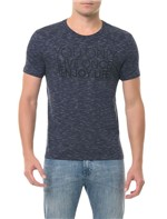 Camiseta Calvin Klein Jeans You Only Azul Escuro CAMISETA CKJ MC ESTAMPA YOU ONLY - AZUL ESCURO - GGG