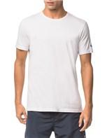 Camiseta Ck Swim Mc Etiqueta Manga - Branco 2 - G
