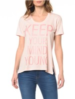 Camiseta CKJ Fem Keep Yoring - P