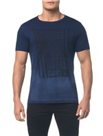 Camiseta Ckj Mc Bandeira - Marinho - PP