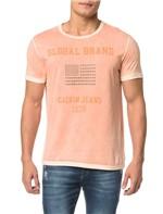 Camiseta CKJ MC Bandeira Tachas - PP