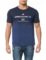 Camiseta CKJ MC Est American Way 1978 - M