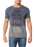 Camiseta CKJ MC Est Calvin Yes Jeans - PP