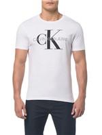 Camiseta Ckj Mc Est Ck - Branca - PP