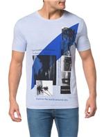 Camiseta CKJ MC Est.Imagens Faixa Centro - PP