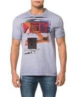 Camiseta CKJ MC Est.New Vision Faixas - PP