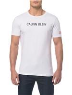 Camiseta Ckj Mc Est Peito e Manga - Branco 2 - PP