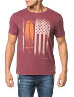 Camiseta CKJ MC Estampa Bandeira e Skate - G