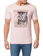 Camiseta CKJ MC Estampa Pincelada CKJ - P