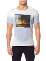 Camiseta CKJ MC Estampa Praia - PP