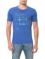 Camiseta CKJ MC Estampa We Are Azul CAMISETA CKJ MC ESTAMPA WE ARE - AZUL - PP