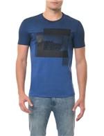 Camiseta CKJ MC Estampaa Formas Azul CAMISETA CKJ MC ESTAMPA FORMAS - AZUL - P