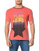 Camiseta CKJ MC Gola Contraste - PP
