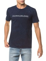 Camiseta Ckj Mc Indigo Est - Indigo - M