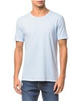 Camiseta Ckj Mc Logo Peito - Azul Claro - M