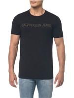 Camiseta Ckj Mc Logo - Preto - PP