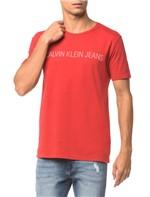 Camiseta Ckj Mc Logo - Vermelho - PP
