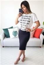 Camiseta Colcci Blusa Estampada