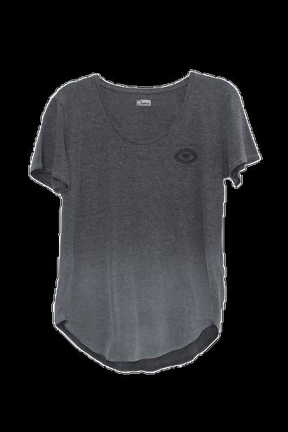 Camiseta Colcci Estampada Confort Silver Mescla - Cinza