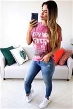Camiseta Colcci Estampada The Better Thieves - Rosa
