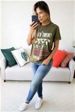 Camiseta Colcci Estampada The Better Thieves - Verde