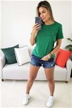 Camiseta Colcci Estampada Vibes - Verde