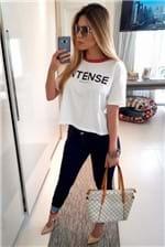 Camiseta Colcci Loose Intense - Branco
