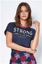 Camiseta Colcci Strong - Azul