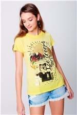 Camiseta Estampa Frontal Feminina