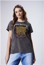 Camiseta Estampa Predator Feminina