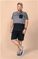Camiseta Estampada Adulto Wee! Cinza - P