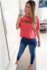 Camiseta Estampada Colcci Intense - Vermelho